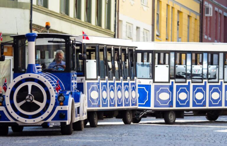 New city train in Oslo