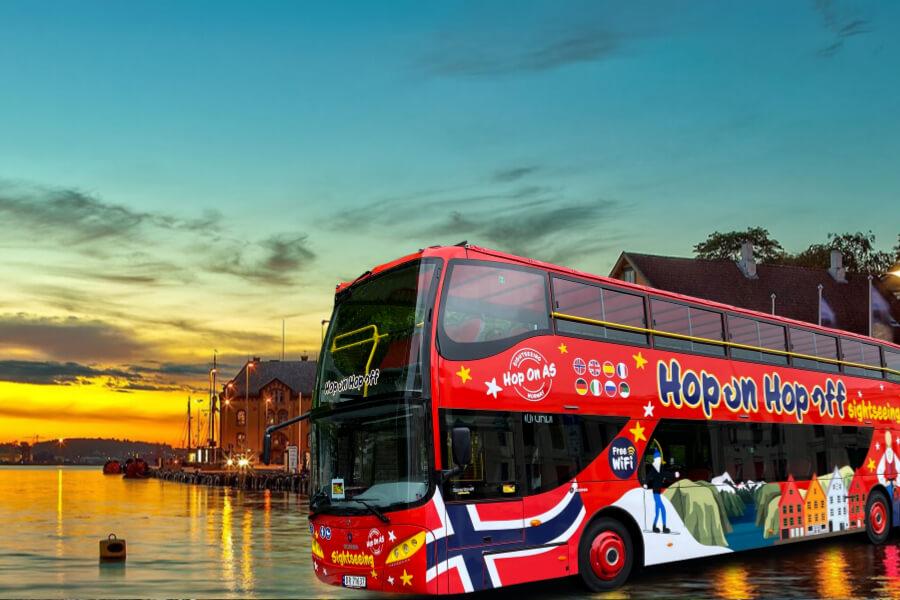 Stavanger sightseeing bus