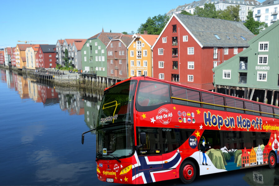 Trondheim sightseeing hop on hop off